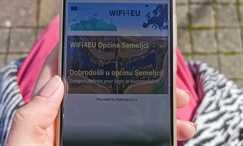 Besplatan internet u centrima sela općine