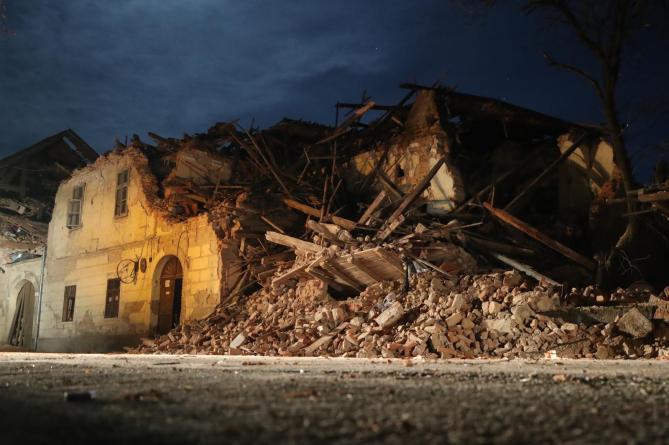Otvoren je transakcijski račun za posebne namjene – za pomoć područjima pogođenih potresom